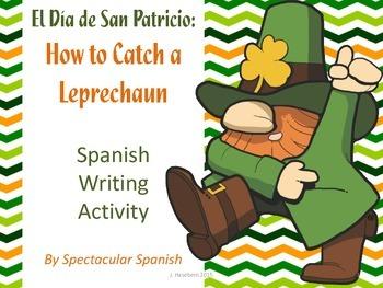 Freebie Spanish Writing Activity: How to Catch a Leprechaun