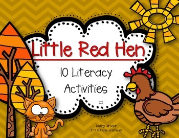 Freebie Texas Treasures First Grade 2.2 Little Red Hen {10