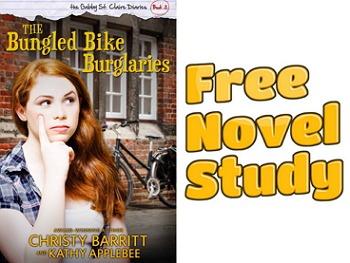Freebie: The Bungled Bike Burglaries novel study