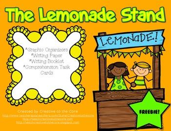 Freebie!~ The Lemonade Stand- A Thematic Reading Mini Unit