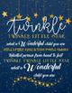 Freebie Twinkle Twinkle I Love Your Ritual Poster