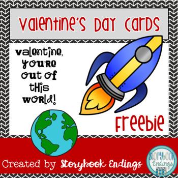 Freebie Valentine's Day Cards