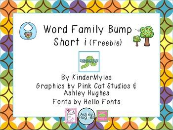 (Freebie) Word Family Bump - Short i
