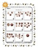 Money ~ Penny Counting ~ One Work Sheet ~ Frames for Holid