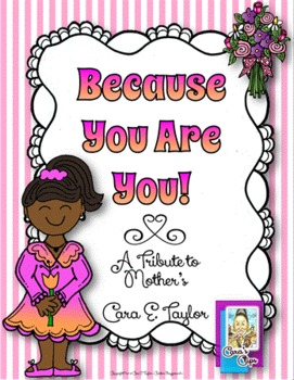 Freebie~Mother's Day Because You Are You!