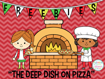 """Freebies for """"The Deep Dish on Pizza"""""""
