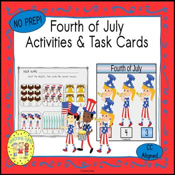 July 4th Worksheets Activities Games Printables and More