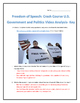 Freedom of Speech: Crash Course U.S. Government and Politi