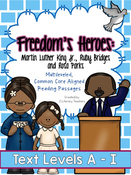Martin Luther King Jr., Ruby Bridges & Rosa Parks: Leveled