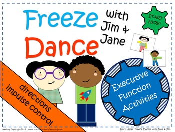 Improve Self-Control - Play Freeze Dance