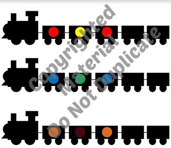 Freight Train M&M Patterning