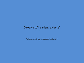 French 1 - Bien Dit 1.2 Vocab practice