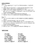 French Accent-Change Verbs (e->è, é->è) Writing Activities