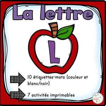 """French Alphabet - L'alphabet - La lettre """"L"""""""