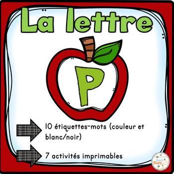 """French Alphabet - L'alphabet - La lettre """"P"""""""