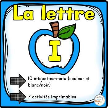 "French Alphabet - L'alphabet - La lettre ""I"""