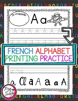 French Alphabet Printing Pages