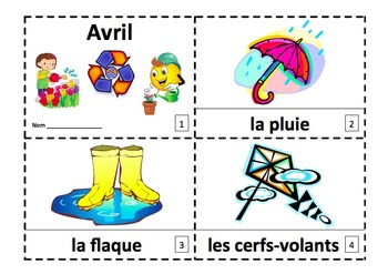 French April 2 Emergent Readers