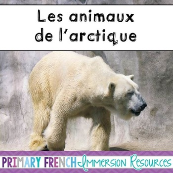 French Arctic Animals Pack - Les animaux de l'Arctique