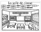French Back to School Count the Room: Compte dans la salle