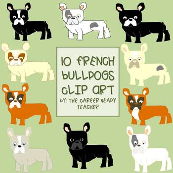 French Bulldog Clip Art