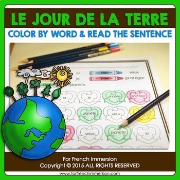 Jour de la Terre - FRENCH Earth Day