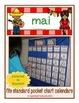 French Calendar Set for May - fiesta theme (for pocket cha