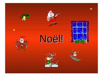 Noël Teaching Resources. French Christmas Vocabulary Power
