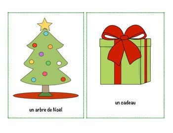 French Christmas Writing, Flashcards & Bang cards2 (Large