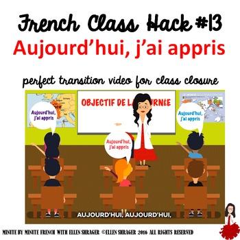 French Class Hack #13 Aujourd'hui, j'ai appris! CI TPRS TC