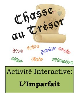 French Imperfect Scavenger Hunt Activity