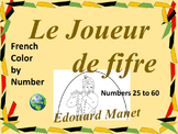 French Color by Number - The Fifer Manet