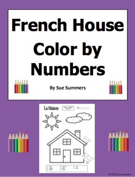 French House Color by Numbers