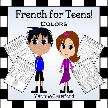 French Colors - Les Couleurs en Français