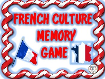 French Culture Memory Game