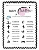 French Daily Routines Worksheet Packet