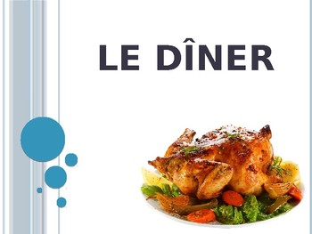 French Dinner Powerpoint
