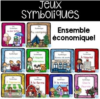 French Dramatic Play (Growing Bundle)/ Ensemble grandissan