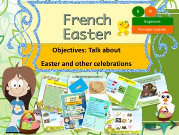 French Easter, Pâques et autres célébrations bundle (power