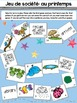 French Emergent Reader and Activities: Au printemps