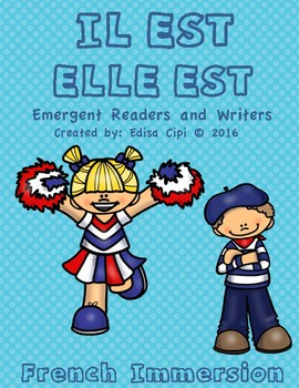 LES NATIONALITIES!  French Emergent Readers & Writers! Che