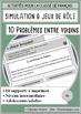 French/FFL/FSL - BUNDLE - 2 Role plays - Logement/House problems