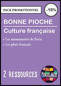 French/FFL/FSL - BUNDLE -  2 Go fish - Culture française/F