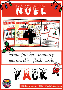 French/FFL/FSL - BUNDLE -  4 ressources for Christmas