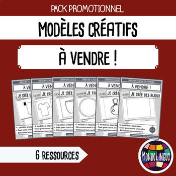 French/FFL/FSL - BUNDLE - 6 Printables - Create and sell s
