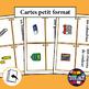 French/FFL/FSL - Flash Cards - School Supplies