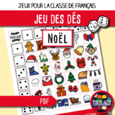 French/FFL/FSL - Games - Dice game - Christmas