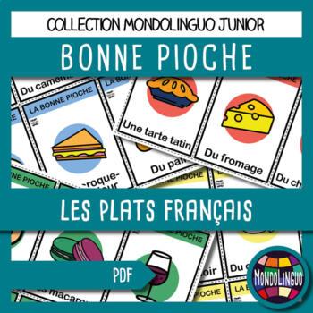 French/FFL/FSL - Games - Go Fish - French dishes
