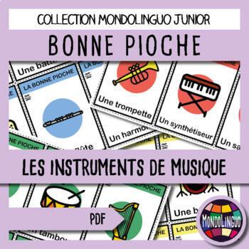 French/FFL/FSL - Games - Go Fish - Instruments