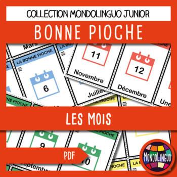 French/FFL/FSL - Games - Go Fish - Months